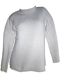 3f032392c47f Suchergebnis auf Amazon.de für  chenille-pullover - Weiß   Damen ...
