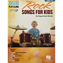 Rock Songs for Kids: Drum Play-Along Volume 41 [With Access Code] (Hal Leonard Drum Play-along, Band 41)