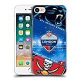 Head Case Designs Offizielle NFL Panthers VS. Buccaneers 2019 London Games Harte Rueckseiten Huelle kompatibel mit iPhone 7 / iPhone 8