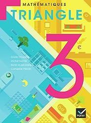 Triangle Mathématiques 3e éd. 2012 - Manuel de l'élève (format compact)