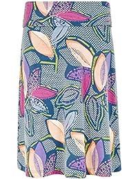 Weird Fish Accona Quick Dry Printed Jersey Skirt
