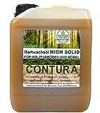 CONTURA NATUR Hartwachsöl Holzschutz Holzöl Parkett- Fussboden- Möbel Öl Wachs Holzwachs 2,5 Liter Farblos anfeuernd Hartöl