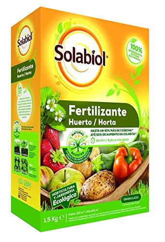 Solabiol Abono para huertos 100%...