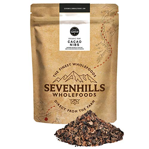 Sevenhills Wholefoods Organic Raw Cacao Nibs 1kg