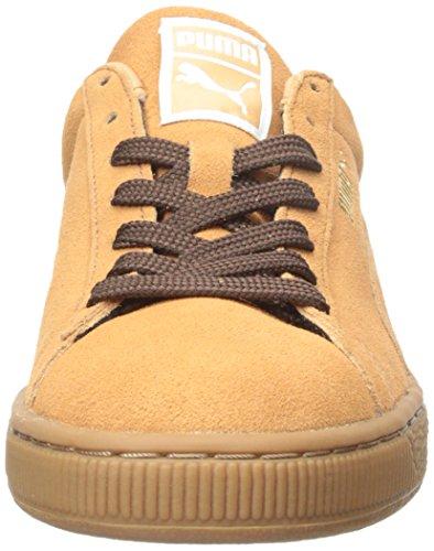 Puma Suede Classic Sneakers Fashion Casual Sandstorm/Oxblood/Gum