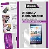dipos I 2X Schutzfolie klar passend für Huawei MediaPad M1 8.0 Folie Displayschutzfolie