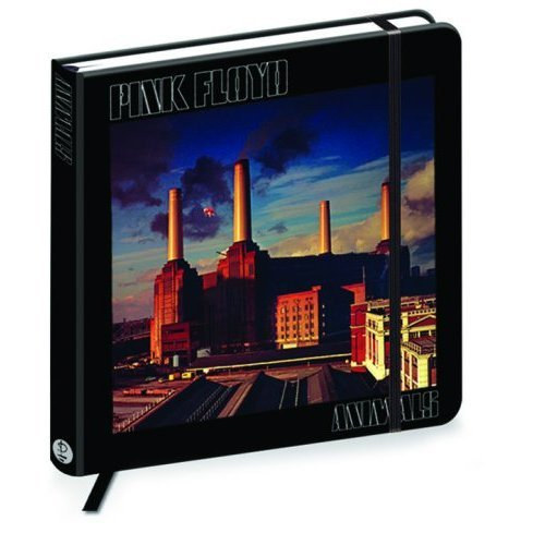 Pink Floyd Black Hardback Journal Notebook Jotter Animals Album Cover Official Hardback Cover