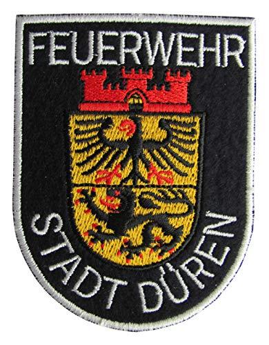Feuerwehr Stadt Düren - Berufsfeuerwehr - Ärmelabzeichen - Abzeichen - Aufnäher - Patch