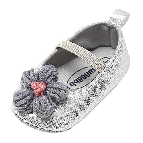 Ginli scarpe bambino,Scarpe Primi Passi Scarpine Neonato Scarpe Bambino Fila Scarpe da Bambina in Pelle da Bambina Tenere al Caldo Scarpe da Bambino per Principianti