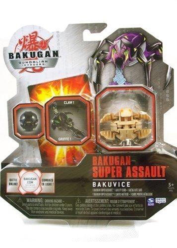 BAKUGAN Gundalian Invaders Super Assult BAKUVICE CLAW- CLAWSAURUS Subterra - Factory Sealed by Bakugan