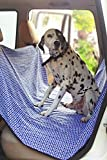 Elegant Bone Car Seat Pet Protector (Blue)