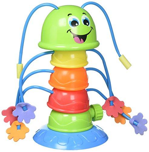 Kinder Wassersprinkler Raupe mit 8 Spritz-Armen Höhe 25,5cm