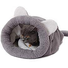 Wicemoon 1pcs Cama para Mascotas Invierno Cálido Gato Perro Saco de Dormir Mascota Nido 50x40cm