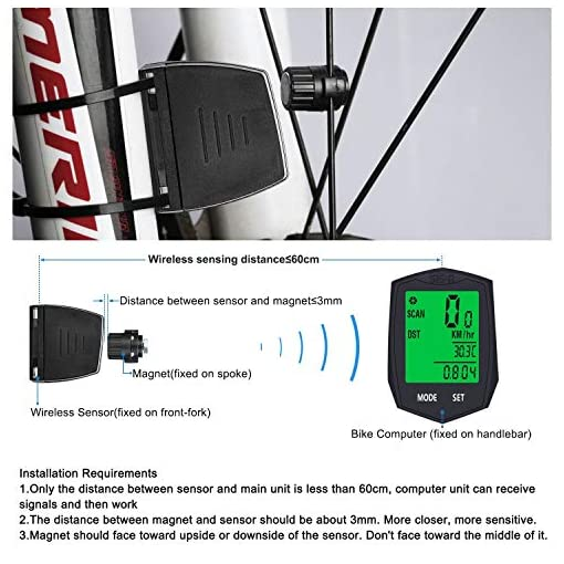 BIGO Computer da Bicicletta Wireless