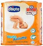 Chicco Veste Asciutto Junior, 17 Pannolini, Taglia 5 (12-25 kg)