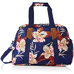 Roxy Sugar It Up - Bolsa de tela y de playa, color azul, 47 cm