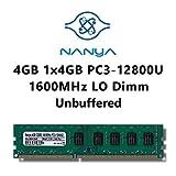 Samsung Hynix Elpida Nanya 4GB (1x 4GB) DDR3 1600MHz (PC3 12800U) LO Dimm Computer PC Desktop Arbeitsspeicher RAM Memory