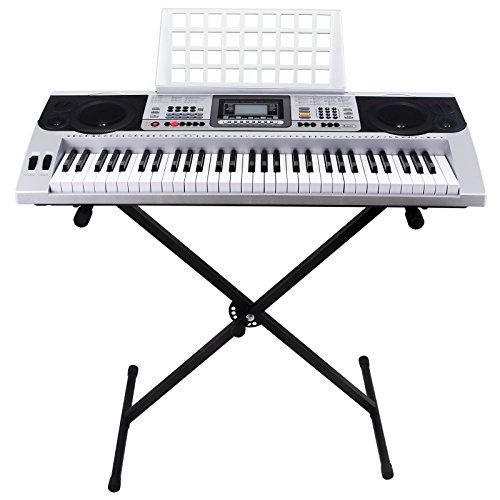 SUNCOO MK-810 61 Tasten musikalisches digitales Keyboard elekronisches Klavier elektronische Orgel tragbar