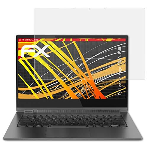atFolix Schutzfolie kompatibel mit Lenovo Yoga C930-13IKB Bildschirmschutzfolie, HD-Entspiegelung FX Folie (2X)