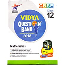 CBSE Vidya Question Bank Mathematics Class 12th (for 2018 Examination)