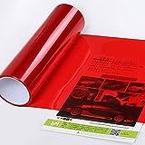 Sedeta® glänzend rot 15 '' x 24 '' Auto Rücklicht Farbe ändern Film Aufkleber Aufkleber Wrap Tint Blatt Dekoration DIY