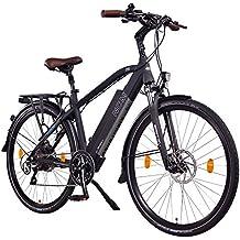 NCM Venice+ 28 Zoll Trekking / Urban E-Bike, 48V 250W Das-Kit Heckmotor, 48V 14Ah 672Wh designer Rahmen Akku mit Panasonic Li-Ion Zellen, hydraulische Tektro Scheibenbremsen, 8 Gang Shimano Altus / Acera Gangschaltung, matt schwarz