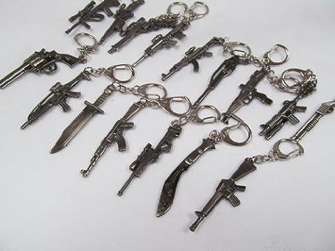 Arme Replique - Porte-clés Collection Réplique Arme à Feu Métal