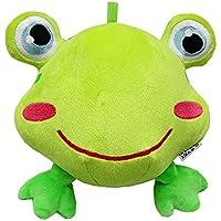 Preisvergleich für Baby-lustiges Spielzeug Baby Schöne Frosch Weiche Hand Rasseln Bell Kinder Baby Funnny Crawlen Bell Ball Spielzeug Geschenk