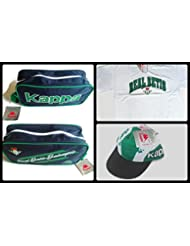Pack Camiseta + Guardazapatillas + Gorra Betis Kappa Vintage (XL)