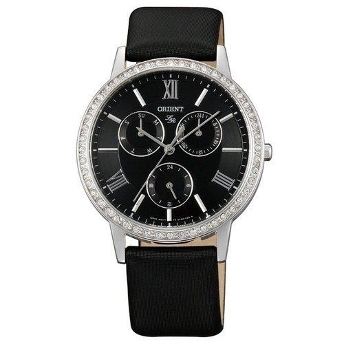 Reloj Orient Lady Rose Ut0h005b Mujer Negro