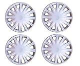 #5: Autorepute Premium Quality Car Full Caps Silver 14Inches Wheel Cover For - Tata Indigo