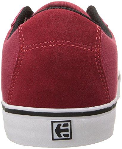 Etnies Scam Vulc, Chaussures de Skateboard Homme Red/White/Black