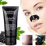 LuckyFine 1Pcs blackhead remover cleaner detergente purificante peel off acne nero fango maschera immagine
