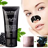 LuckyFine 1Pcs blackhead remover cleaner detergente purificante peel off acne nero fango maschera - LuckyFine - amazon.it