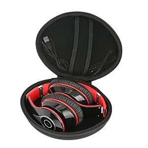 Hart Reise Schutz Hülle Etui Tasche für Mpow On-Ear Bluetooth Overhead-Headset Stereo Wireless Kopfhörer von co2CREA