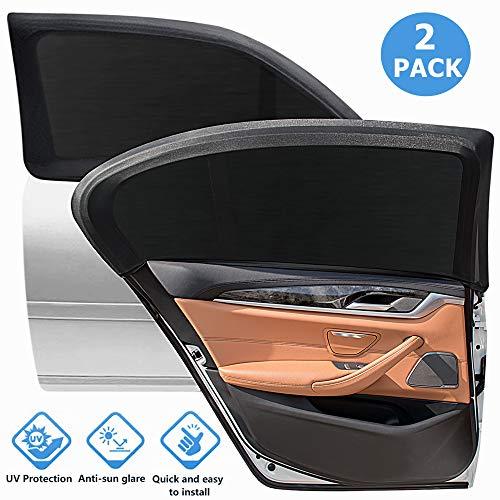 Sonnenschutz Auto Kinder Baby mit UV Schutz PKW Autofenster KFZ Fenster Heckscheibe Seitenscheibe...