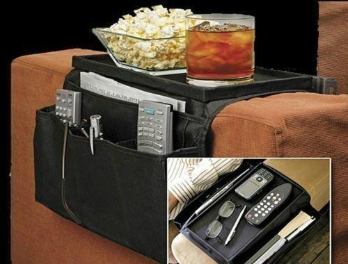 Porta oggetti salva spazio organizzatore bracciolo divano poltrona multi tasche organizer riponi oggetti piu ripiano poggia telecomando riviste snack