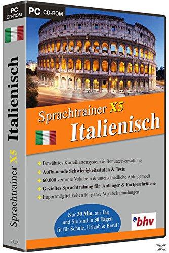 Sprachtrainer X5 Italienisch