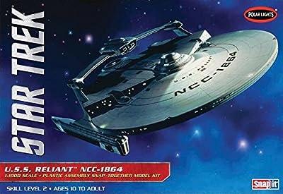 Polar Lights POL906 - 1/1000 Star Trek USS Reliant NCC-1864 Snap Kit von Polar Lights