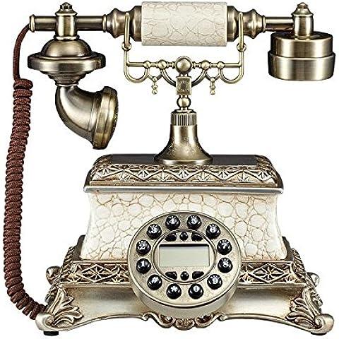 CinCin Caller ID telefono fisso antico epoca retrò telefono di casa europea classica cinese vecchio