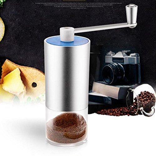 Professionelle Bierzapfanlage (Gaddrt Tragbare Hand-Kaffeemühle Professionelle Handschleifmaschine Küche Café, Aluminium)