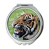 Yanteng Spiegel, Kompaktspiegel, Tierkatze, Taschenspiegel, tragbarer Spiegel