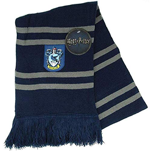 Bufanda Harry Potter RAVENCLAW Ultra Suave - 100% Original WARNER BROS
