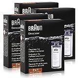 Braun BRSC 003 Kaffeemaschinen-Entkalker 2x100ml ( 4er Pack )