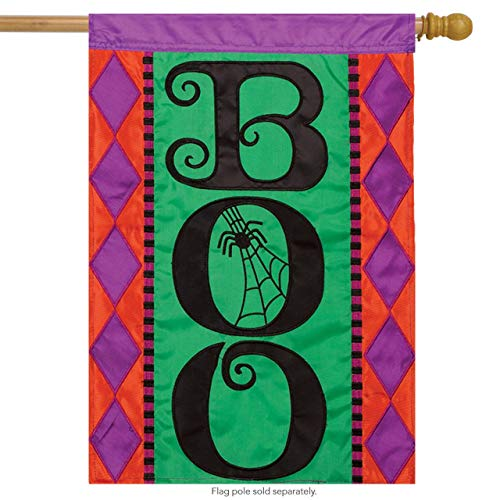Applique House Flag- 2 Sided Message for Party Outdoor Home Decor(Size: 12.5inch W X 18 inch H) ()