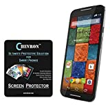 Chevron Aquashieldz Pro 0.33mm Tempered Glass Shatter Proof and Shock Absorbing Screen Protector for Motorola Moto X (2nd Gen) best price on Amazon @ Rs. 199
