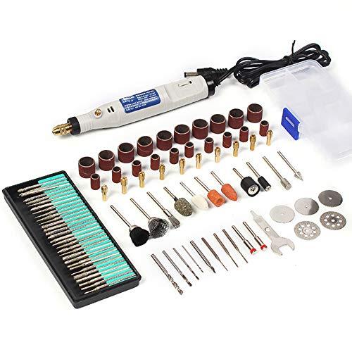 YUWEN 18 V Gravierstift Mini Bohrer Drehwerkzeug Mit Schleifzubehör Set Multifunktions Mini Gravierstift Für Werkzeuge