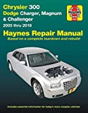 Chrysler 300, Dodge Charger, Magnum & Challenger from 2005-2018 Haynes Repair Manual: Does Not Include Information Specific to Diesel Engine, ... or Hellcat/Demon Models (Haynes Automotive)