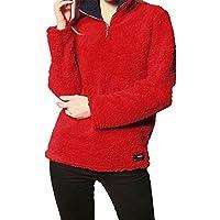 Pullover Damen Btruely Mädchen Reißverschluss Fleece Pullover Winter Herbst Sweatshirt Langärm Outerwear preisvergleich bei billige-tabletten.eu