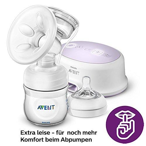 Philips Avent SCF332/31 Elektrische Komfort-Einzelmilchpumpe, weiß - 4